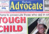 BARBADOS SUNDAY ADVOCATE NEWSPAPER