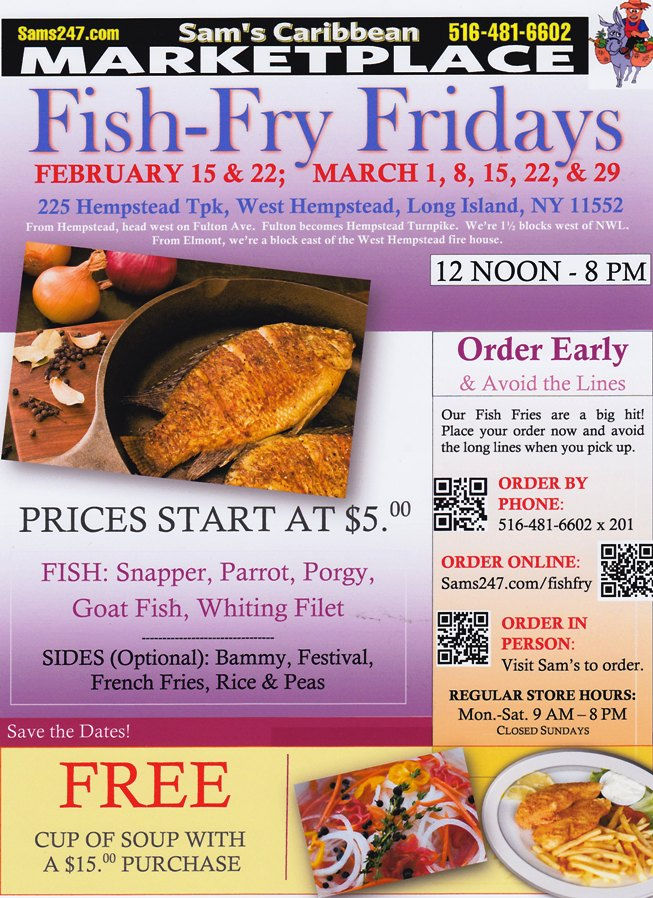 Click on Fish Fry Friday photo to order your fish.