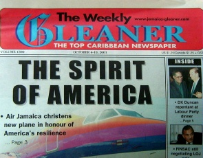JAMAICA WEEKLY GLEANER (13 Weeks) 