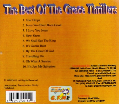 BEST OF GRACE THRILLERS/GRACE THRILLERS CD 