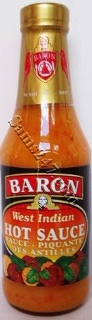 BARON HOT SAUCE 14 OZ 