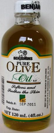BENJAMINS PURE OLIVE OIL ML 
