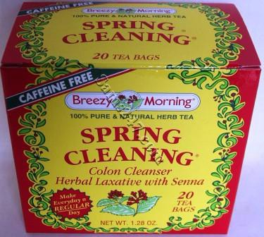 BREEZY MORNING SPRING CLEANING TEA BAGS 