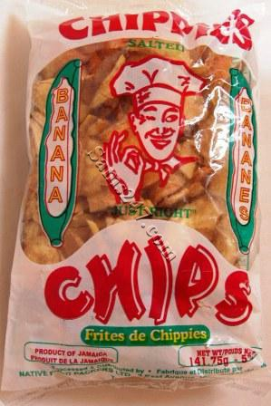 CHIPPIES BANANA CHIPS 5 OZ 