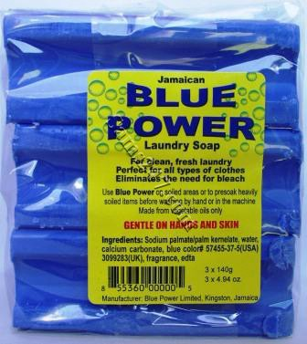 BLUE SOAP--WRAPPED (3 per pack) 