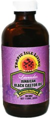 TROPIC ISLE LAVENDER JAMAICAN BLACK CASTOR OIL 8 OZ 