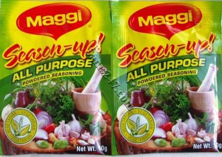 Up all purpose powdered seasoning 10g maggi season up all purpose